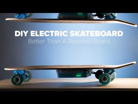 DIY Electric Skateboard Build - Better Than A Boosted Board