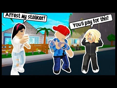 I GOT MY STALKER ARRESTED! - ROBLOX