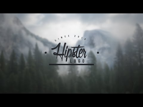 Old School Hipster Logo Template for Photoshop!