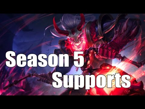 Top 10: Best Supports for Solo Queue [Season 5: League of Legends]