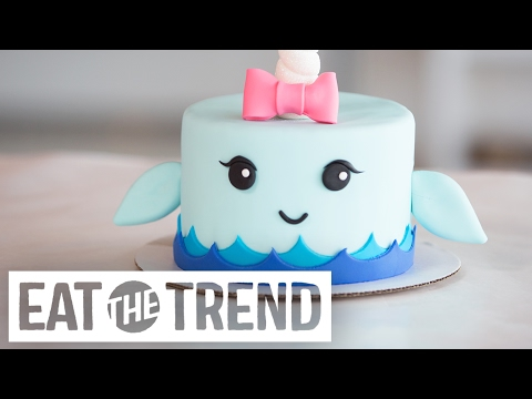 How to Make a Narwhal Cake | Eat the Trend