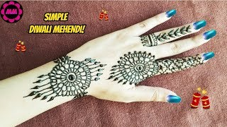 Diwali Special Henna! Pretty Festive Mehendi Design - Party Mehndi for all occasions