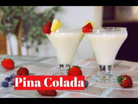 Virgin Pina Colada | Tropical Fruit Drink recipe by Priyanka Rattawa