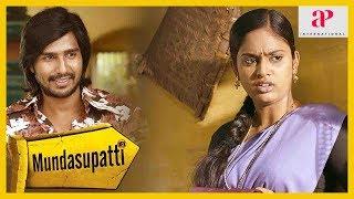 Mundasupatti Comedy Scene | Vishnu Vishal tries proposing to Nandita | Kaali Venkat