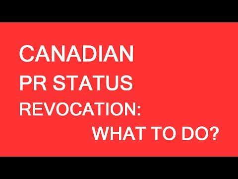 What to do in case of inadmissibility report initiation. PR Card renewal Canada