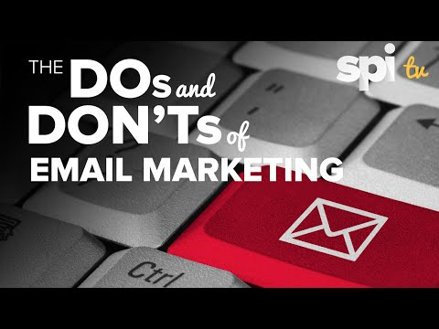 The Dos and Dont's of Email Marketing - SPI TV Ep. 29