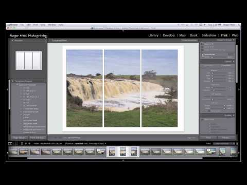 Making a Triptych photo in Lightroom