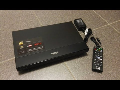 How to Setup Sony UBP-X700 4K UHD Blu-Ray Player - Unboxing
