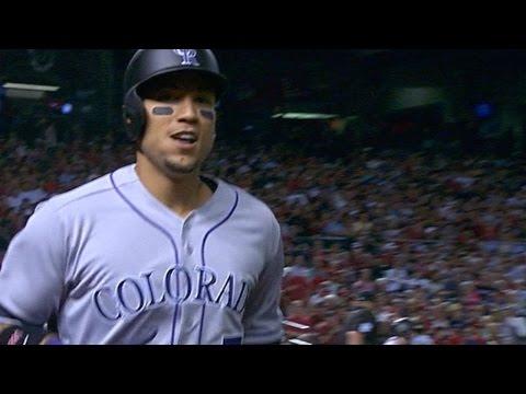 COL@ARI: Rockies hit four home runs vs. D-backs