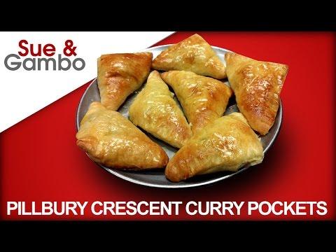 Pillsbury Crescent Rolls Recipe - Curry Pockets - Curry puff recipe