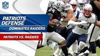 New England Shuts Down Oakland in Mexico City! | Patriots vs. Raiders | Wk 11 Player Highlights