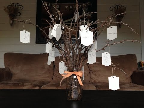 THANKFUL TREE: a family expression of gratitude