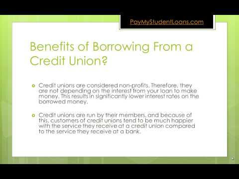 Top 2 Benefits of Student Loans From a Credit Union