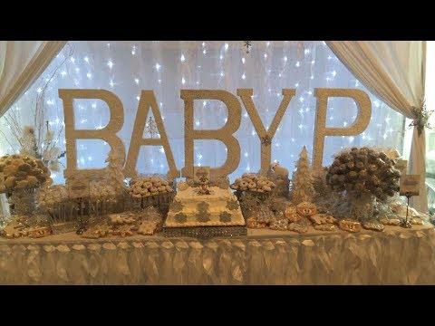 Danielle's Winter Wonderland Baby Shower