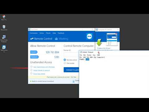 How Remote Computer With Email Using TeamViewer