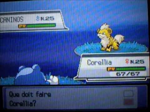 Caninos Chromatique/Shiny Growlithe - HeartGold Road 48 - 20 266 RE's