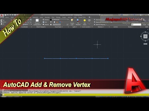 Autocad How To Add And Remove Vertex In Polyline
