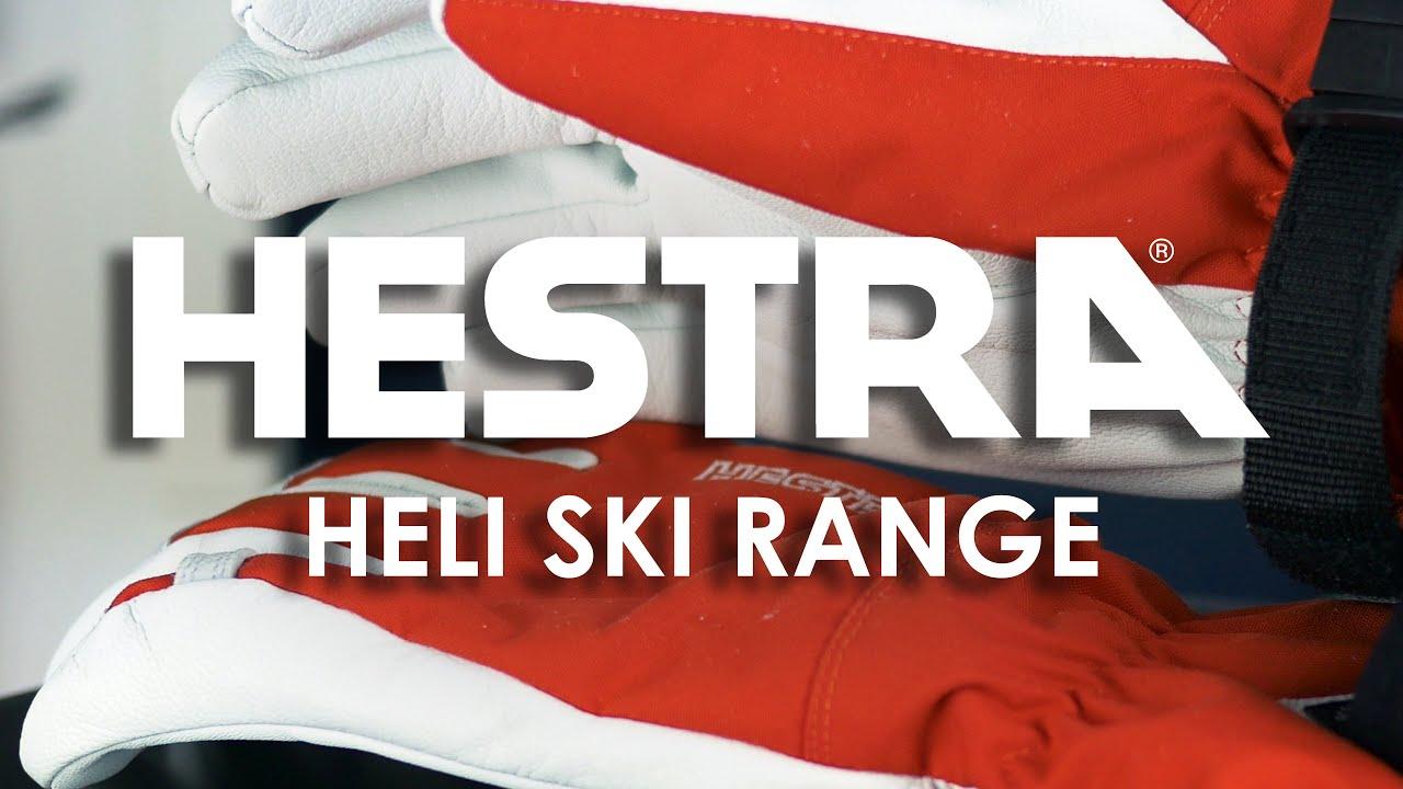Hestra Heli Ski Army Leather Range Overview