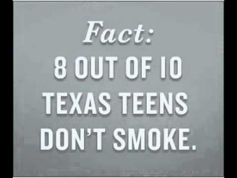 8 out of 10 Texas teens don't smoke 3