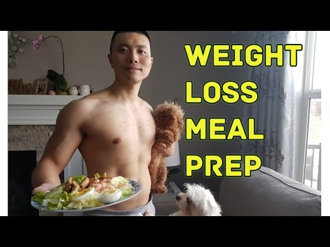 How to Meal Prep for Weight Loss | Chicken Breast Salad Recipe EASY DELICIOUS