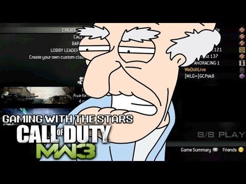 Gaming with the Stars - Herbert Plays Modern Warfare 3 - Soundboard Trolling