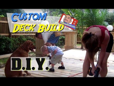 Build a Wooden Deck: DIY Project