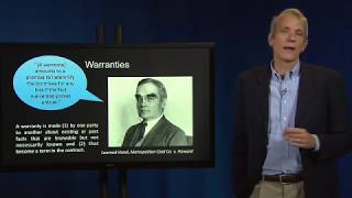 Download Contract Law 60 IV Warranties and Representations of Fact Video