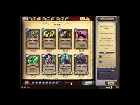 Hearthstone - SECRET - How to get a free legendary?