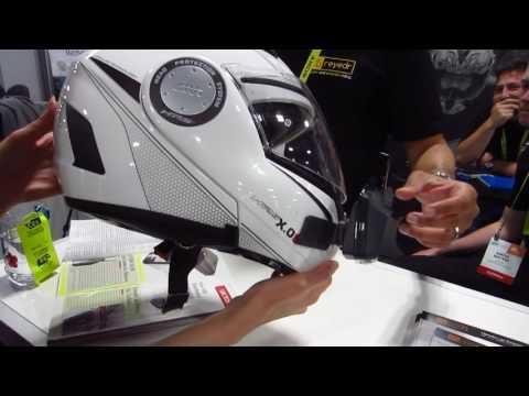 REYEDR Helmet heads-up display (HUD) - CES 2017 Sands Expo, Tech West, Las Vegas, NV