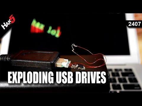 Exploding USB Drives - Hak5 2407
