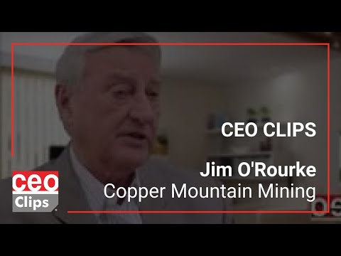 80 Million Lbs. of Copper Per Year - Copper Mountain Mining