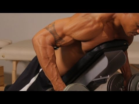 How to Do a Prone Bench Row   Back Workout