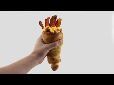 The Macaroni and Cheese Bread Cone