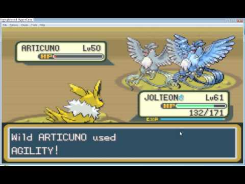 How to get Articuno in Fire Red
