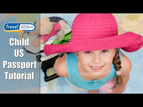 Child Passport Renewal - Tutorial by Travel Visa Pro