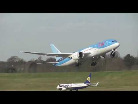 Birmingham Airport Spotting (BHX/EGBB) 16.02.18