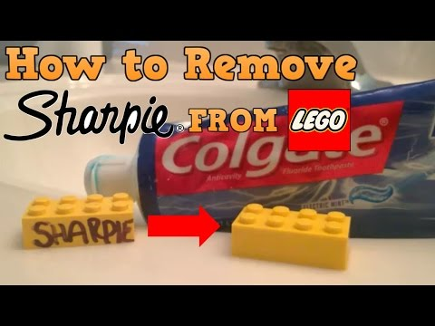 How to Remove Sharpie from LEGO Easy! (No Rubbing Alcohol!)