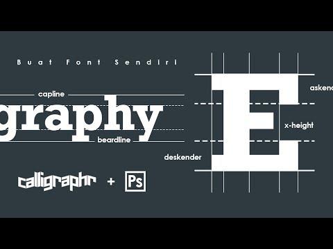 Cara Membuat Font dengan Mudah & Gratis