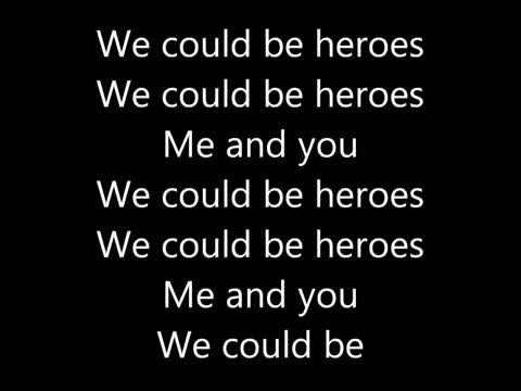 Alesso (We could be) - Heroes   Lyrics