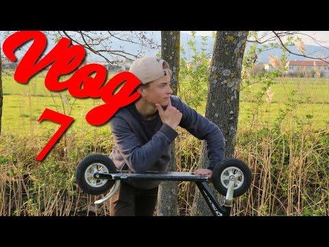 Vlog 7 | New SkatePark / Dirt Scoot ( break barre )