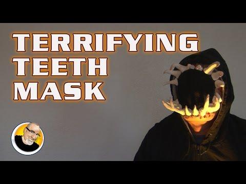 TERRIFYING TEETH MASK for Halloween!
