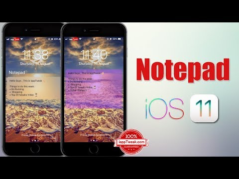 Notepad Tweak Brings the Much Needed Notes Feature To LockScreen