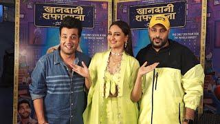 Watch: Sonakshi Sinha, rapper Badshah promote film 'Khandaani Shafakhana'