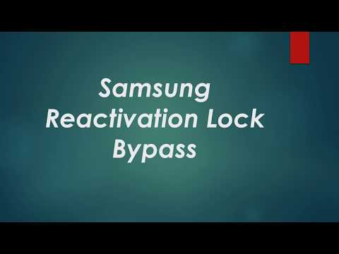 Samsung Reactivation Lock Bypass Verizon
