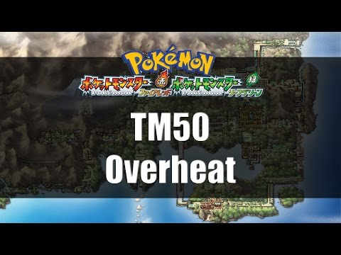 Pokemon Fire Red & Leaf Green | Where to find TM50 Overheat