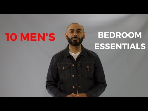10 Men's Bedroom Essentials