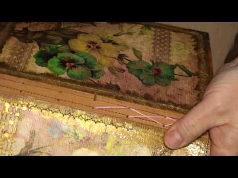 Cross stitch spine tutorial
