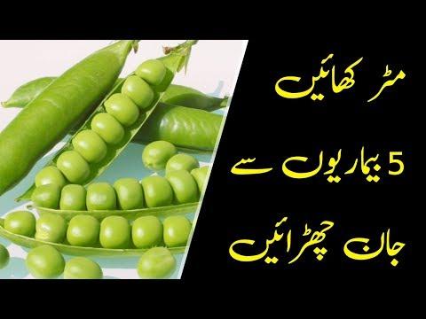 Matar Khane Ke Fayde | Benefits of Green peas