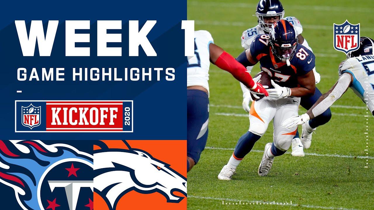 Titans vs. Broncos Week 1 Highlights | NFL 2020