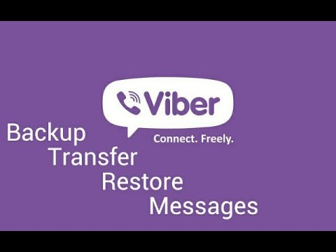 How to Backup and Restore Viber Messages Chat History on Android